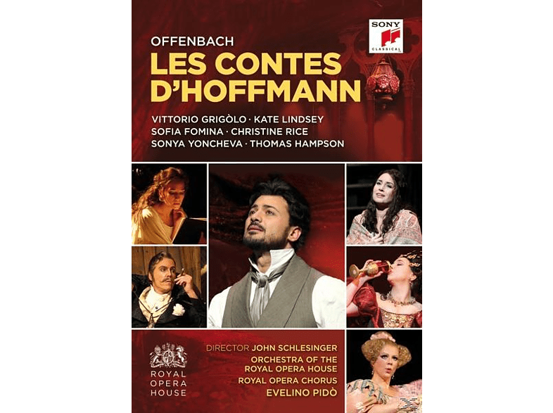 Thomas Hampson, Sofia Fomina, Royal Opera Chorus, Orchestra Of The Royal Opera House, Vittorio Grigolo, Christine Rice - Les Contes d'Hoffmann/Hoffmanns Erzählungen [DVD]