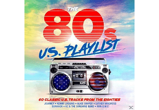 VARIOUS - 80's US Playlist - (CD)