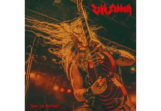 Zakk Sabbath - Live In Detroit (Orange) - (Vinyl)