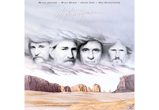 Waylon Jennings, Willie Nelson, Johnny Cash, Kris Kristofferson - Highwayman - (Vinyl)