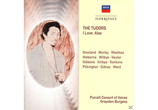 Spencer/Brett/Burgess/Purcell Cons.of Voices - The Tudors: I Love,Alas - (CD)