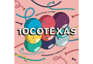 VARIOUS - 10cotexas (Anniversary Compilation) - (CD)