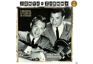 Santo & Johnny - 5 Original LP's On CD - (CD)