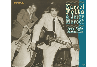 Narvel Felts, Jerry Mercer, Leon Barnett, J.W. Grubbs - 1956 Radion Rockabillies - (CD)