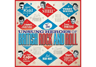 VARIOUS - Unsung Heroes OF British Rock'N'Roll - (CD)