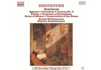 Slovak Philharmonic Orchestrra - Beethoven: Overtures Vol.1 - (CD)