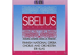 Finnish National Opera, Chorus And Orchestra - Sibelius: Cantatas - (CD)