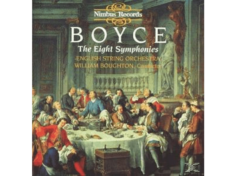 William Boughton, English String Orchestra - Eight Symphonies [CD]