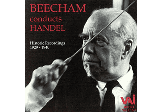 The London Philharmonic Orchestra, Thomas Beecham - Beecham conducts Handel - (CD)