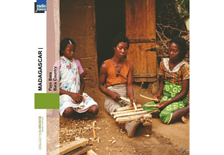 VARIOUS - Madagascar. Pays Bara - (CD)