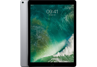 APPLE MPA42FD/A iPad Pro Wi-Fi + Cellular, Tablet mit 12.9 Zoll, 256 GB Speicher, LTE, iOS 10, Space Grey