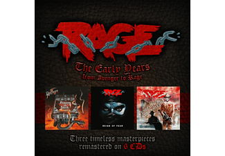 Avenger, Rage - The Early Years (6CD Box) - (CD)