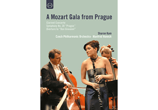 Sharon Kam, Manfred Honeck, The Czech Philharmonic Orchestra - Mozart-Gala Aus Prag - (DVD)