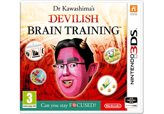 Dr. Kawashima's Devilish Brain Training: Can you stay FOCUSED?  3DS