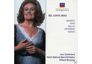 Joan Sutherland, Welsh National Opera Orchestra - Bel Canto Arias - (CD)