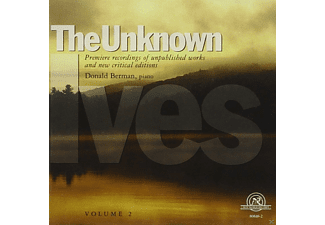 Donald Berman - The Unknown Ives Vol.2 - (CD)