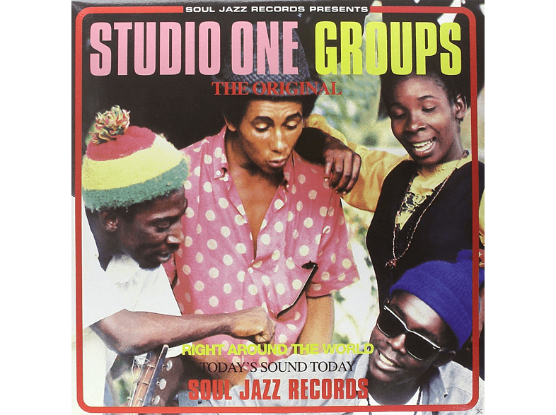 VARIOUS - STUDIO ONE GROUPS (LTD./+MP3) [LP + Download]