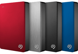 "Disco Duro de 4TB - Seagate Backup Plus Portable, 2.5"", Rojo"