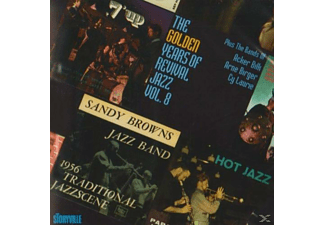 VARIOUS - Golden Years Of Revival Jazz Vol.8 - (CD)