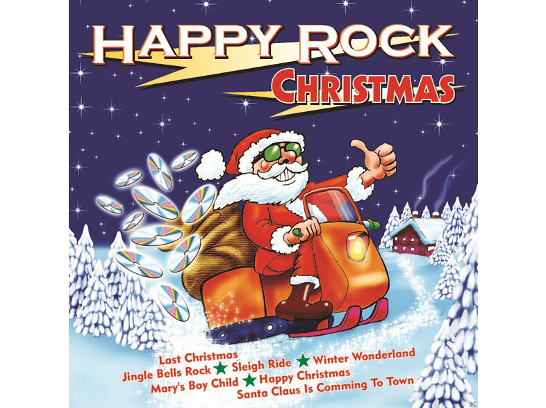 VARIOUS - Happy Rock [CD]
