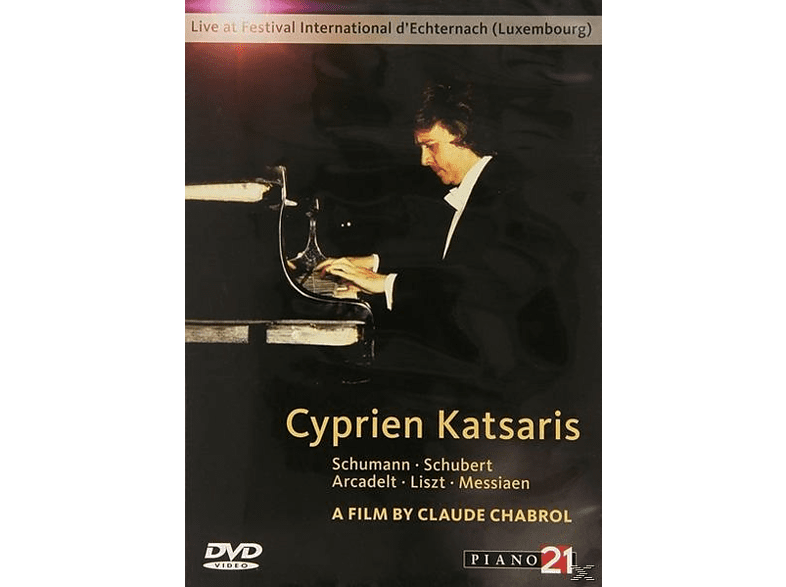 Cyprien Katsaris - INTERNATIONAL FESTIVAL OF LUXEMBOURG [DVD]
