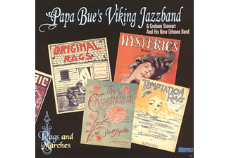 Papa Bue's Viking Jazzband, Graham Stewart And His New Orleans Band - Rags And Marches - (CD)