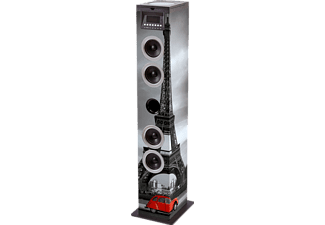 BIGBEN TW12CD PARIS, Sound Tower, 60 Watt, mehrfarbig
