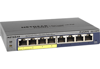 NETGEAR GS108PE 8-Port