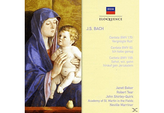 Janet Baker, Robert Tear, The Acadamy Of St. Martin In The Field, Shirley-quirk John - Cantatas Nos. 170/ 82/ 159 - (CD)