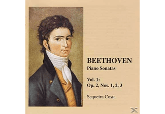 Costa Sequeira - Beethoven Piano Sonatas Vol.1 - (CD)