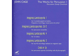 Percussion Group Cincinnatti - Imaginary Landscapes 1-5/Credi - (DVD)