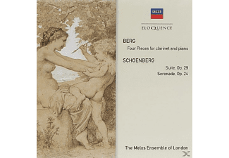 The Melos Ensemble Of London - Berg: Four Pieces For Clarinette And Piano - (CD)