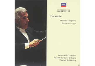 Vladimir Ashkenazy, Philharmoinc Orchestra, Royal Philharmonic Orchestra - Manfred Symphony/ Elegie for Strings - (CD)