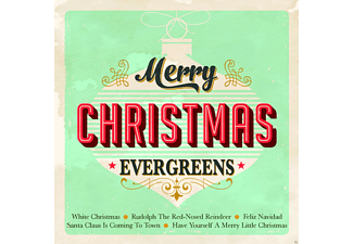 VARIOUS - Merry Christmas Evergreens - (CD)