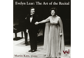 Evelyn Lear, Martin Katz - Evelyn Lear The Art Of The Recital - (CD)