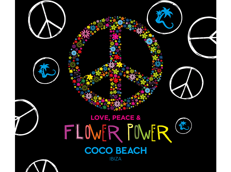 VARIOUS - Love, Peace & Flower Power by Coco Beach Ibiza  [CD]