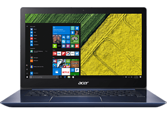 ACER Swift 3 (SF314-52-50F1), Notebook mit 14 Zoll Display, Core™ i5 Prozessor, 8 GB RAM, 256 GB SSD, GeForce® MX150, Stellar Blue (Unibody Aluminium)