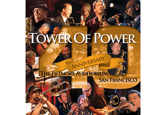 Tower of Power - 40TH ANNIVERSARY - (CD + DVD)