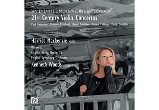 Harriet/Woods Kenneth/English String O. Mackenzie - 21st Century Violin Concertos - (CD)
