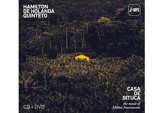 Hamilton Quintet De Holanda - Casa De Bituca - (CD + DVD Video)