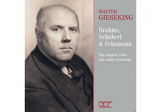 Walter Gieseking - The 1950s solo studio recordings - (CD)
