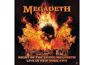 Megadeth - Night Of The Living Megadeth-Live In New York Ci - (CD)