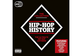 VARIOUS - Hip-Hop History - (CD)