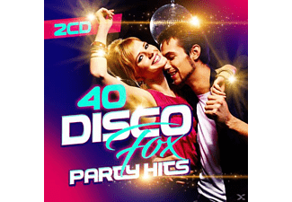 VARIOUS - 40 Disco Fox Party Hits - (CD)