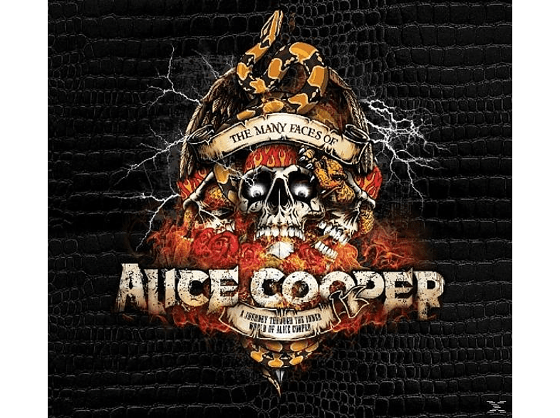 Alice Cooper, VARIOUS - Many Faces Of Alice Cooper [CD]