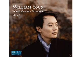 William Youn - Klaviersonaten KV 284,309,475,457 - (CD)