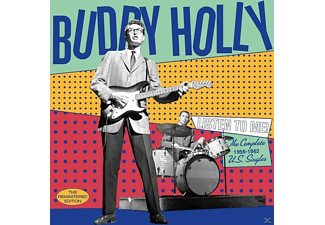 Buddy Holly - Listen To Me-The Complete 1956-1962 U.S.Singles - (CD)