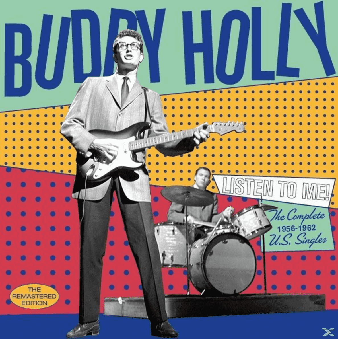 Listen To Me-The Complete 1956-1962 U.S.Singles Buddy Holly auf CD