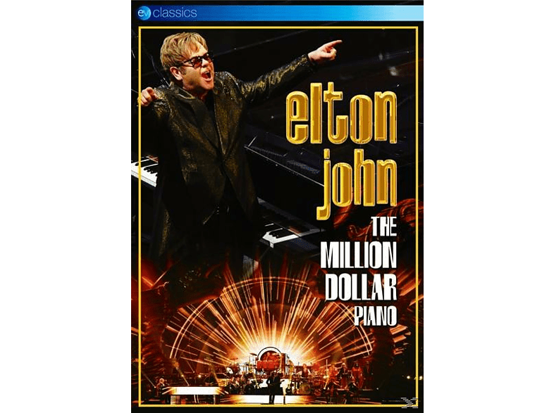 Elton John - The Million Dollar Piano [DVD]