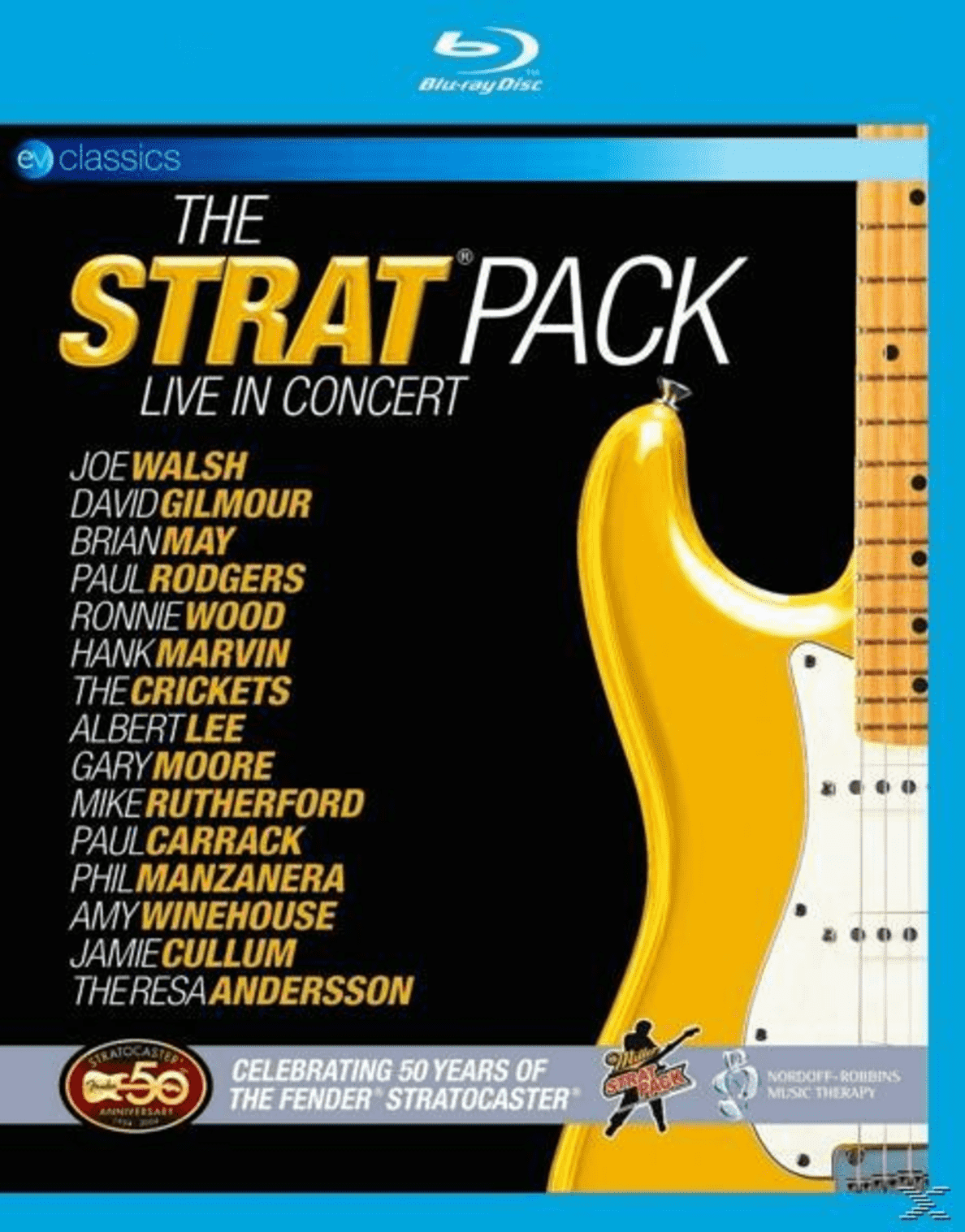 VARIOUS - The Strat Pack: Live In Concert - (Blu-ray)